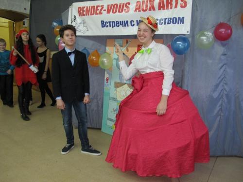 Chose rare, Mme la duchesse Elisabeth de la Motte Saint-Eloi a le sourire .JPG